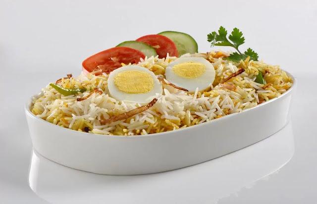 Anda Biryani Recipe in Hindi
