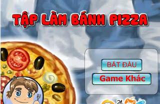 Game tập làm bánh pizza ngon