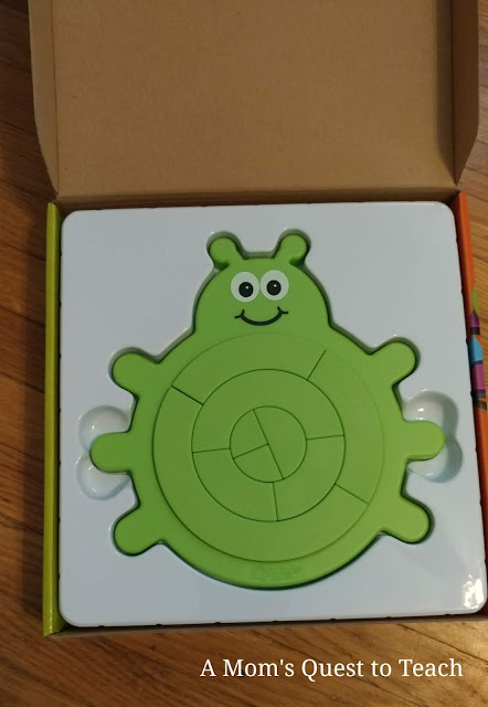 Bugzzle game fits into box