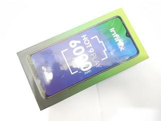 Hape Infinix Hot 9 Play 4/64 RAM 4GB Baterai 6000mAh New Garansi Resmi Infinix