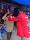 Pemuda Batak Bersatu Taput Bagikan Masker kepada Masyarakat