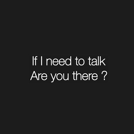 : Are you there?