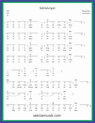 Lirik Lagu Sabilulungan : lirik, sabilulungan, Angka, Sabilulungan, SEKITAR, MUSIK