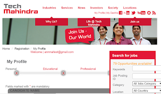 Tech Mahindra Walkin Drive for Freshers On 07th & 08th Nov 2016