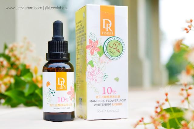 Dr.Hsieh 10% Mandelic Flower Acid Whitening Liquid review, Dr.hsieh review, dr.hsieh skincare, dr.hsieh serum, serum, dr.hsieh indonesia