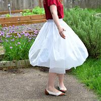 diy ballet skirt woman