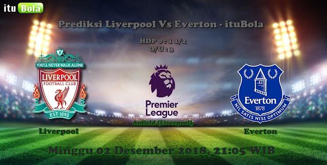Prediksi Liverpool Vs Everton - ituBola