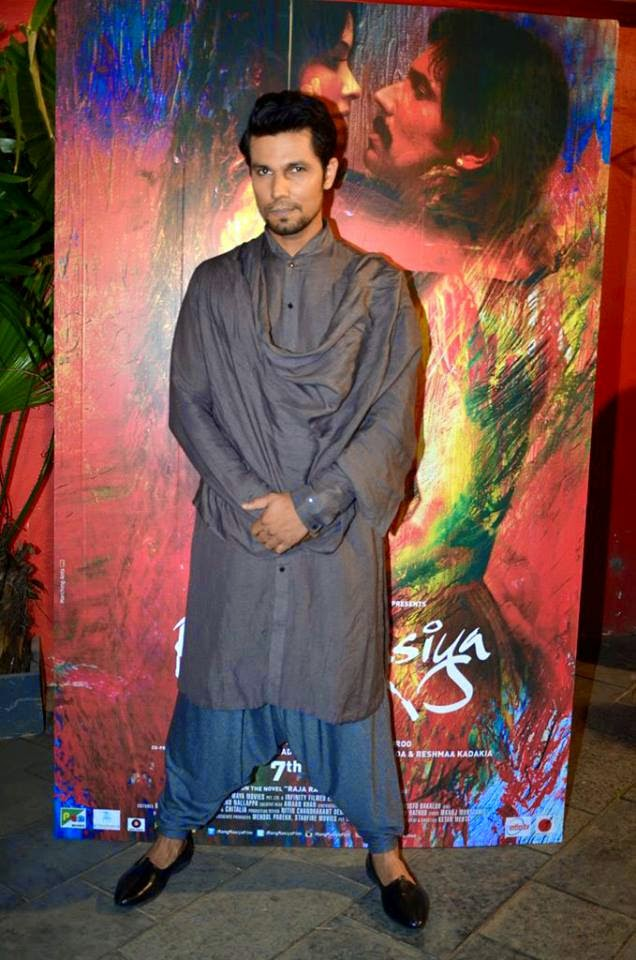 Randeep Hooda at 'Rang Rasiya' promotional event at Ensemble