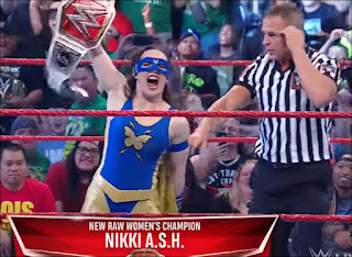Nikki A.S.H. Cashes In Money in the Bank contract