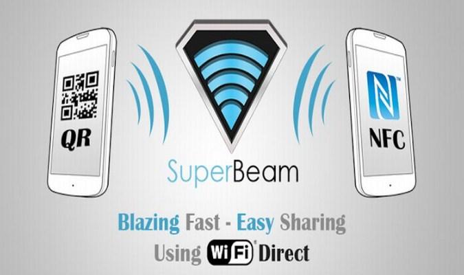 Alternatif Aplikasi SHAREit Terbaik tuk Smartphone Android - SuperBeam