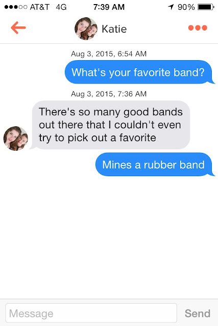 Funny What's Your Favourite Band? Text Picture