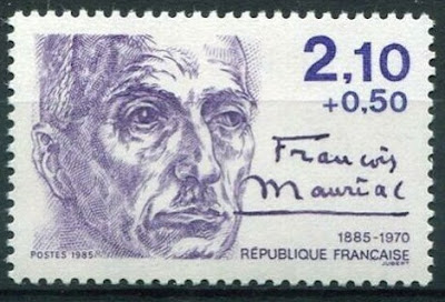 François Mauriac, French novelist, poet, and playwright, Nobel Prize laureate France 1985