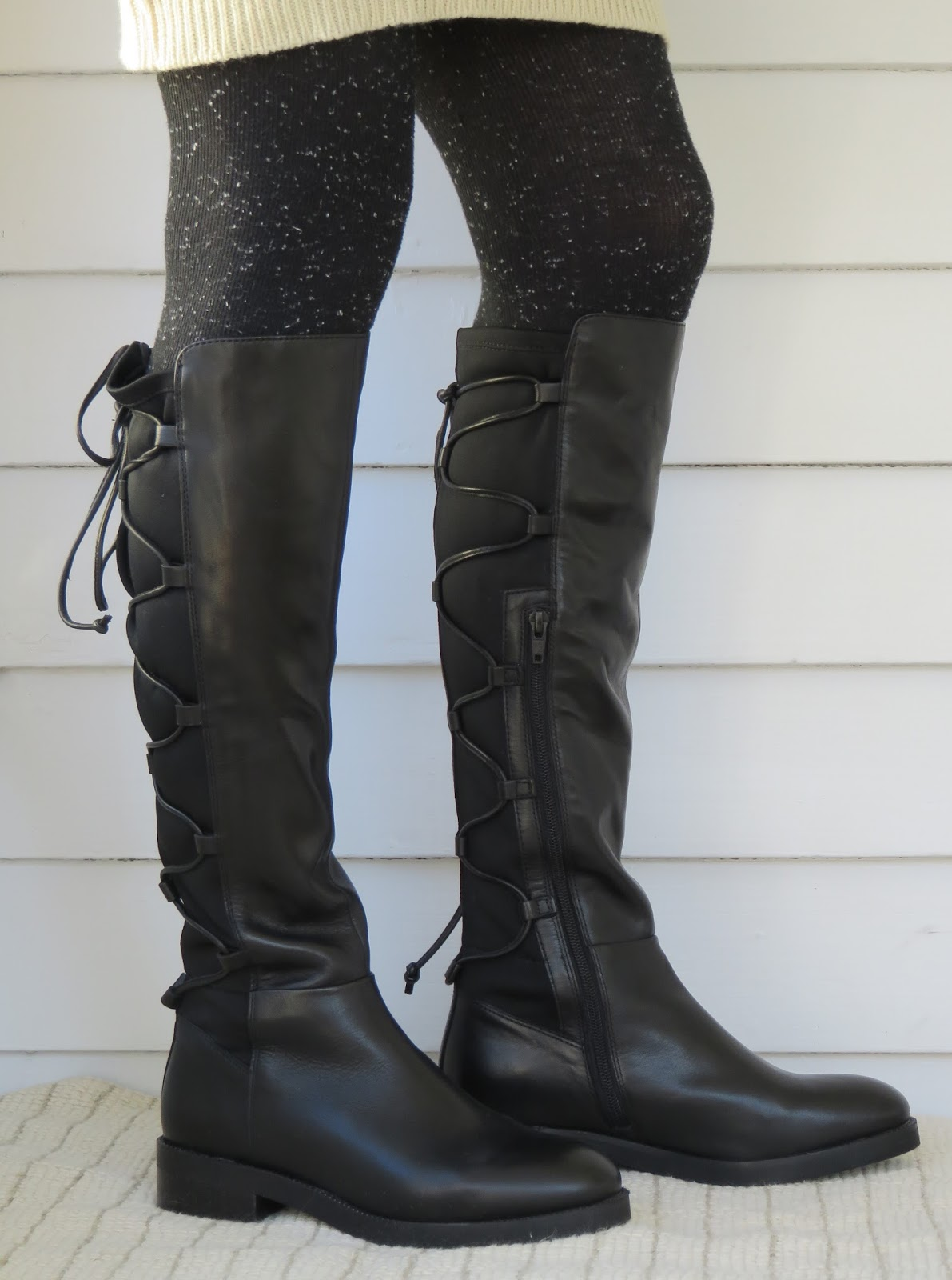 6d93192a22d This is a tall boot. In the size 7.5 I m wearing in these photos