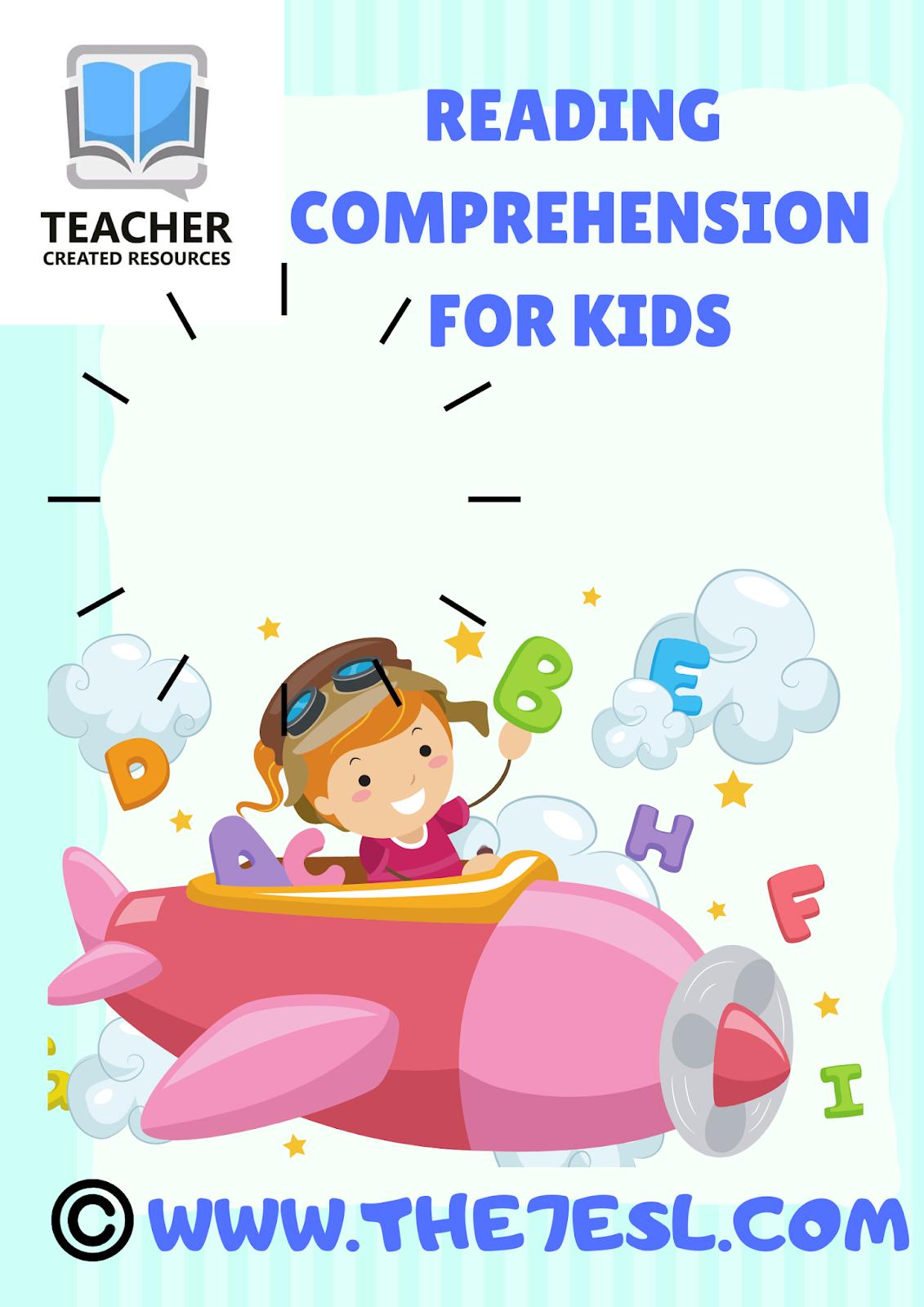 Reading Comprehension For Kids