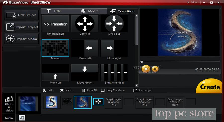 Free Download BlazeVideo SmartShow