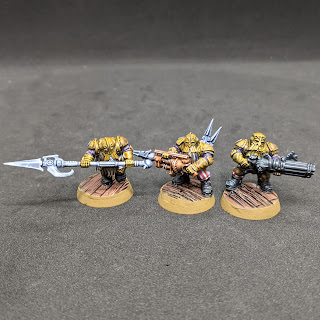 Specialist troops painted