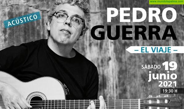 Pedro Guerra presentará este sábado su nuevo trabajo 'El viaje' en el Teatro Circo de Marte