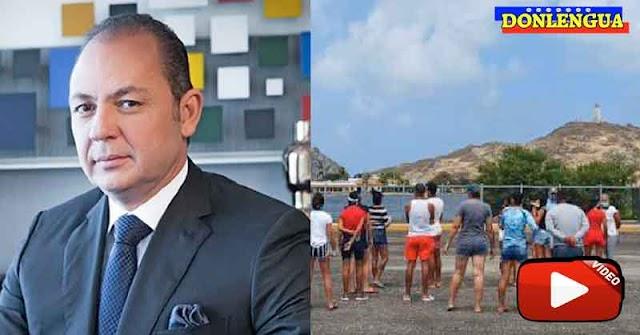 Corrieron de Los Roques a Raúl Gorrín y su familia en un día de playa
