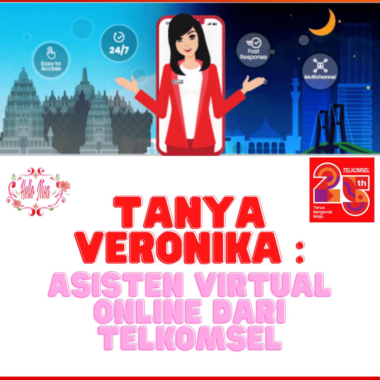 Veronika telkomsel virtual assistant