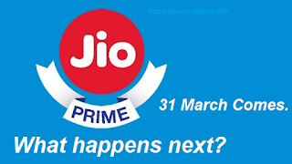 Reliance Jio Prime Subscription Pack ends This March 31, What happens next, Will You Recharge Again?