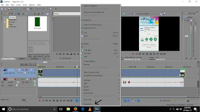 how to solve webm file importing error in sony vegas