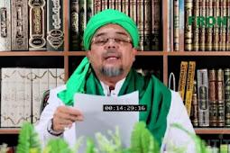 Ini Pesan yang Disampaikan Habib Rizieq Usai Kemenangan Jokowi