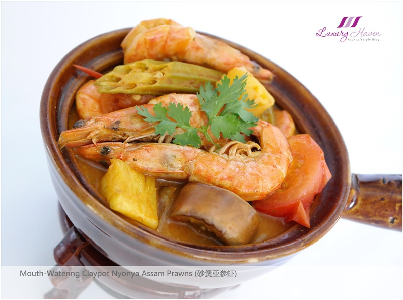 claypot nyonya assam prawns must try asian cuisines
