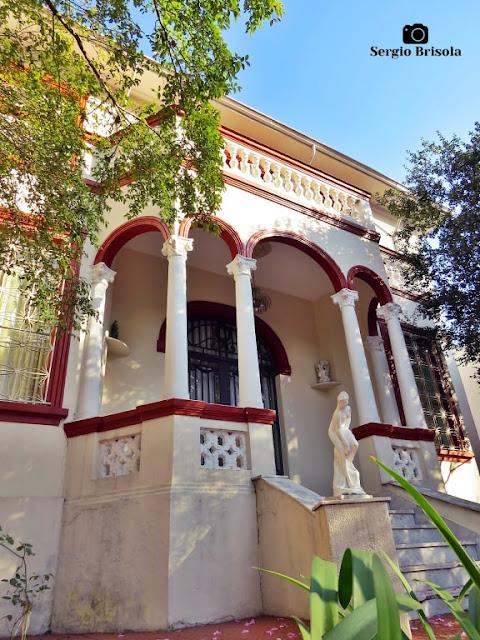Vista ampla do Casarão do Instituto Theodoro Racisbonne - Ipiranga - São Paulo