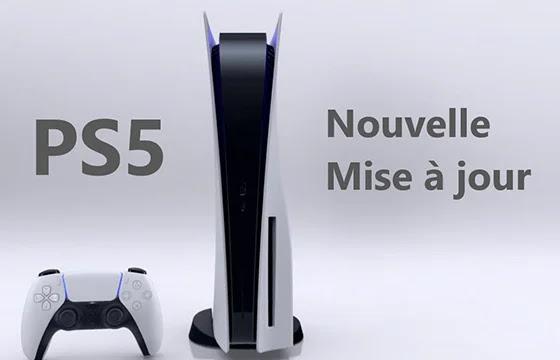 Une nouvelle mise à jour du système PS5.