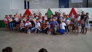 Parceria entre prefeitura de Picuí e banco do Nordeste distribui cestas básicas para famílias dos SCFV