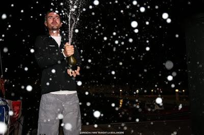 Axel Tréhin crée la surprise, vainqueur de la 1e étape de la Mini Transat