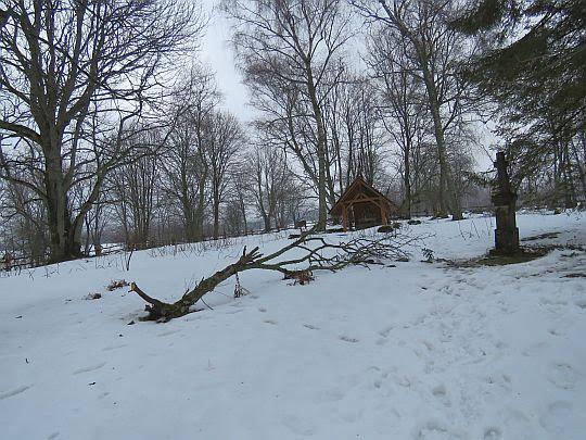 Stary cmentarz bojkowski w Wołosatym.
