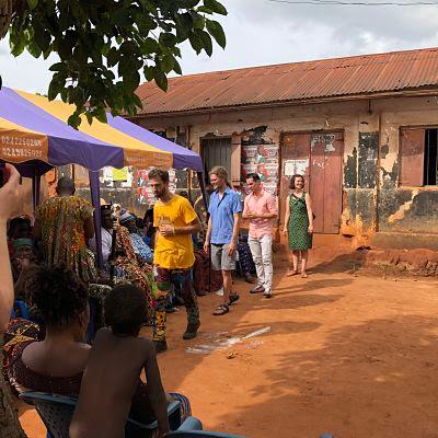 Comité de bienvenida al IBMF 2018 en Dzodze, Ghana