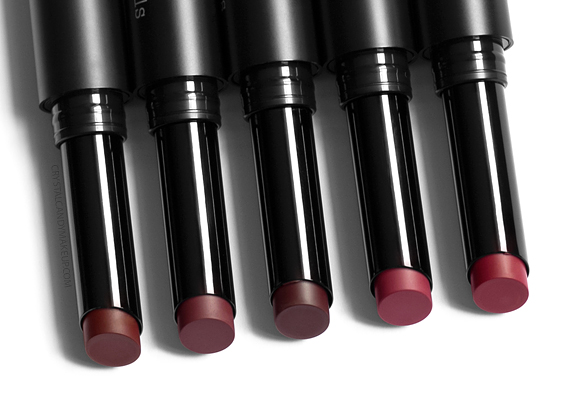 BareMinerals BarePro Longwear Lipsticks Review Blackberry Cranberry Raspberry Boysenberry Raisin