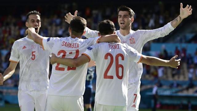 Spain 5:0 Slovakia