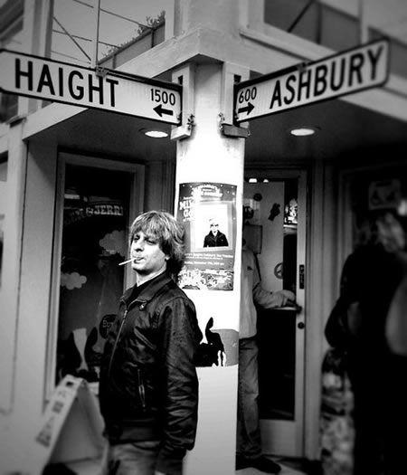 Mike Gordon at Haight Ashbury. November 7, 2010