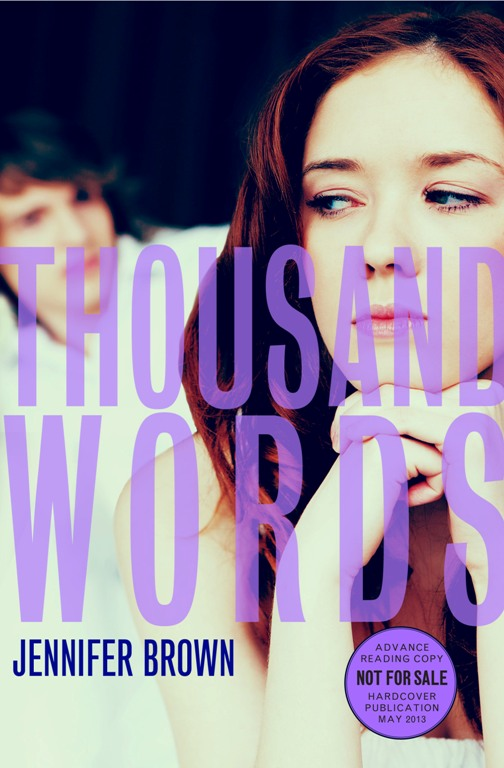 what has only two words but thousands of letters librisnotes thousand words by brown 802
