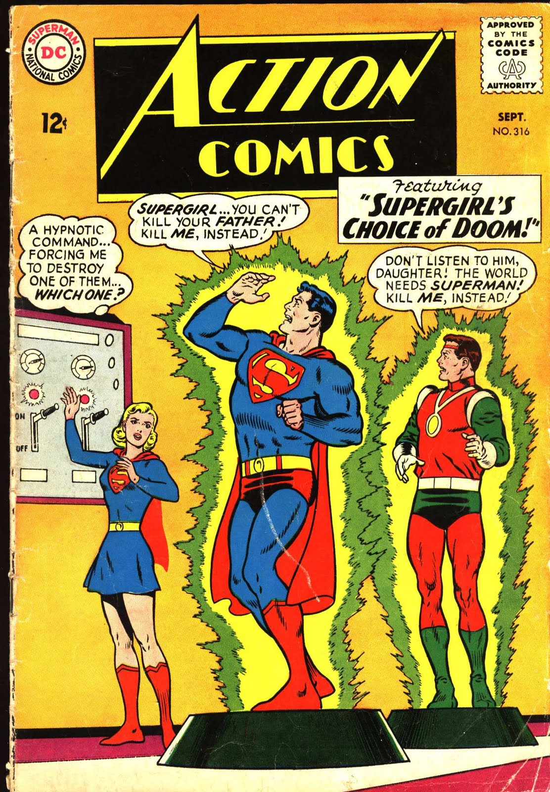 Supergirl: The Maiden of Might: Action Comics #316