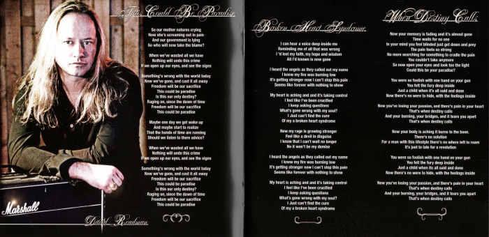 VOODOO CIRCLE - Broken Heart Syndrome [Ltd Digipak +1] booklet