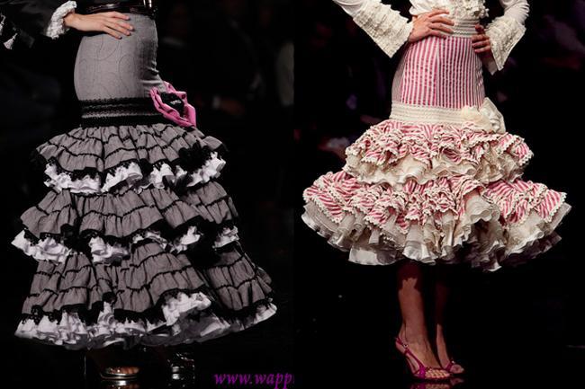 Faldas flamencas neutras