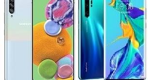 Samsung Galaxy A90 5G Vs Huawei P30 Pro Specs Comparison