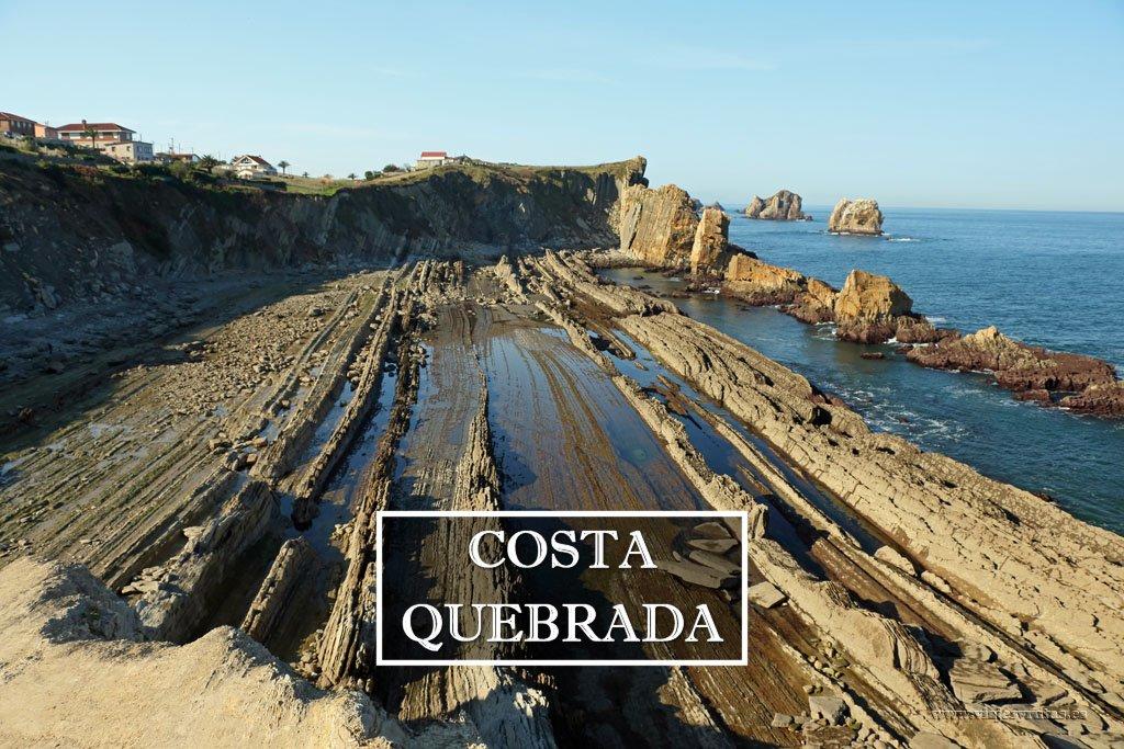 Ruta por los increíbles acantilados de la Costa Quebrada de Cantabria