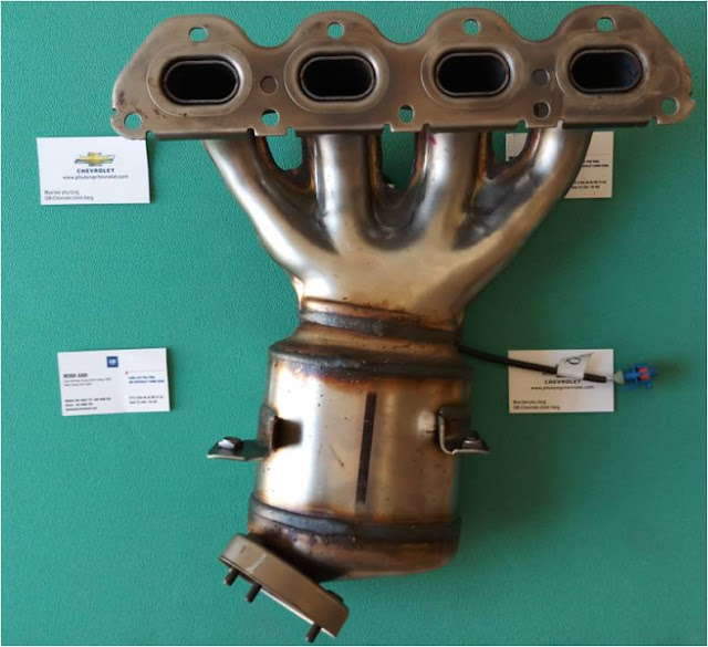 Bầu lọc khí xả xe Lacetti nhập chính hãng GM