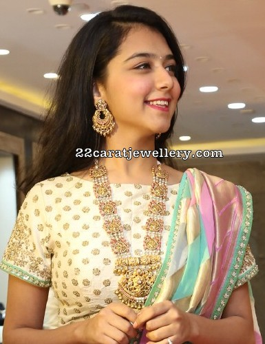 Gorgeous Girl in Pearls Antique Haram