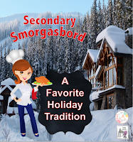 Secondary Smorgasbord: Favorite Holiday Traditions