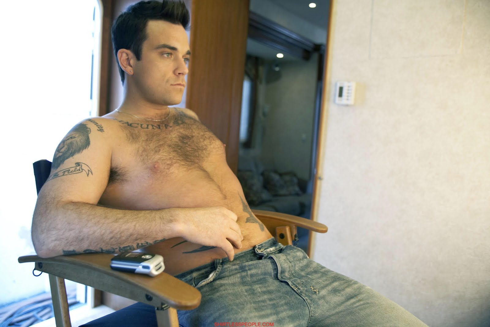 Sorry, that sexy robbie williams with his sexy body share