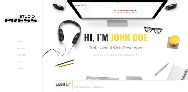 Template Blogger Responsive StudioPress