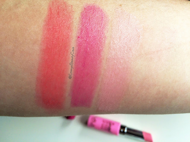 MUA Sweet Sheen Lip Balms Swatches