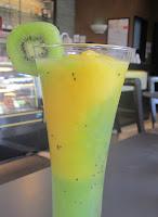 Batido de kiwi y mango