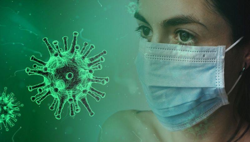 Der Mundschutz vom Zahnarzt, oder ein selbst genähter helfen nicht vor Corona-Virus Covid 19